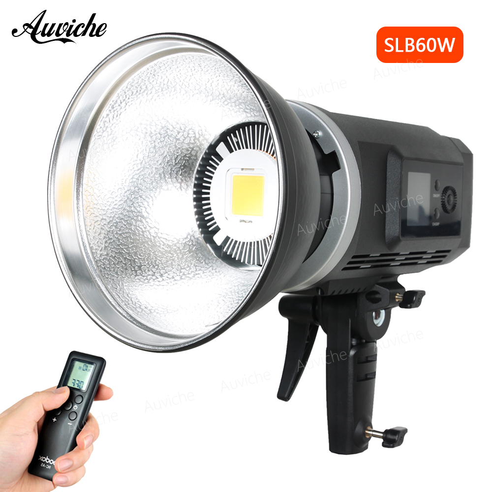 лучшая цена Godox SLB60W 5600k Li-ion Battery 8700mAh Studio LED Video Light Fill light Photo LED Light with Remote Control for Studio Video