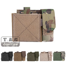 Emerson MOLLE Tactical SAF Admin Panel EmersonGear Multi-purpose Map Hunting Bag Magazine Holder Accessories Pouch Pocket cheap summer Spring AUTUMN Winter Batik Solid EmersonGear Airsoft Tactical Admin Pouch High Density Durable Nylon Fabric Any MOLLE PALS System