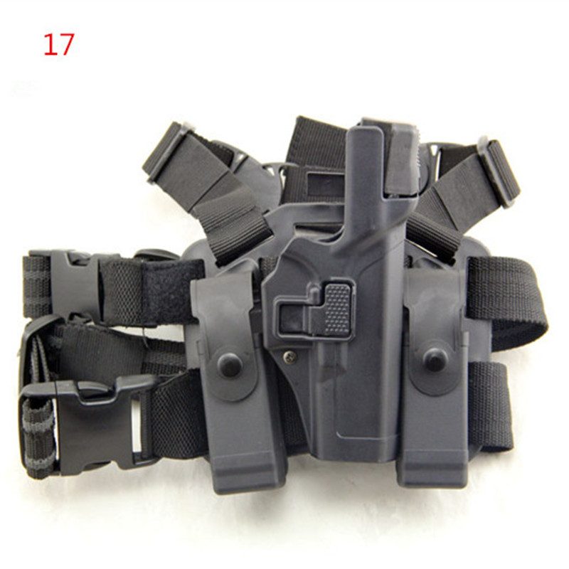 Tactical Serpa Level 3 Light Bearing Right Hand Drop Leg Auto Lock Duty Pistol Holster for Glock 17 19 22 23 31 32 unbrand 17 18 19 23 32 36 tactical holster