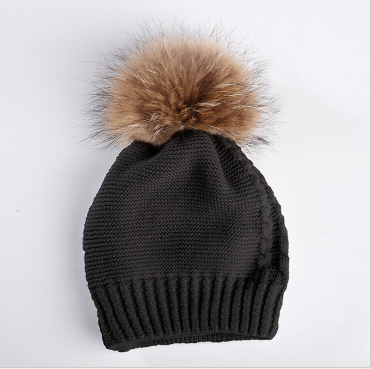 2018The 2018 pill hat women's warm wool knit cap wool felt cowboy hat stetson black 50cm