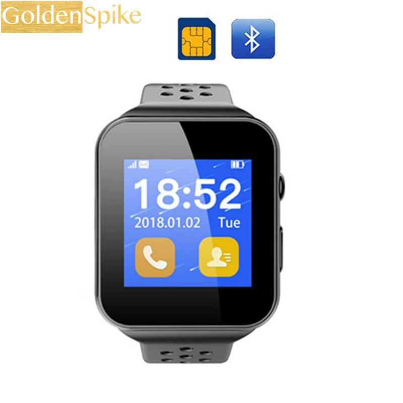2018 Newest Bluetooth smart watches i8 support independent 2G calling function smartwatch phone for Android IOS