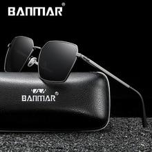 BANMAR Fashion Classic Brand Sunglasses Mens Polarized Sun Glasses Driving Luxury Design glasses For Men UV400 Oculos