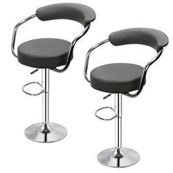 2 шт. Модный стильный барный стул с подъемником высокий стул стульчик-кресло стул из мягкой искусственной кожи бар обеденный стул для Дома