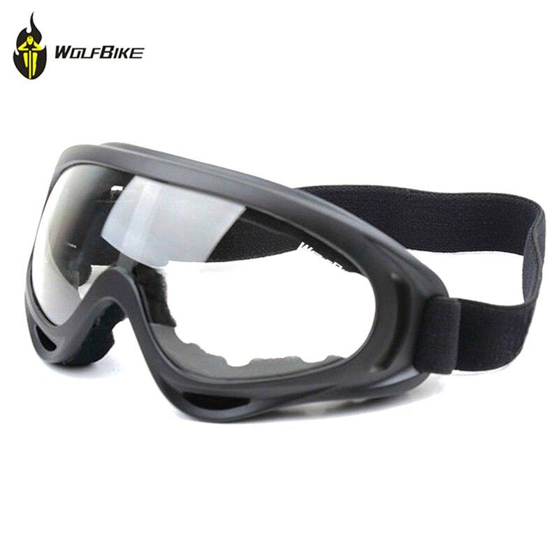 WOLFBIKE УФ-защита Спорт на открытом воздухе Лыжная сноуборде катание очки Мотокросс внедорожных мотоциклов Лыжный Велоспорт Очки очки