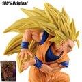 100% Original Do Dragão Z B SC6 super saiyan 3 Goku Sun estilo 2 anime dos desenhos animados figuras de ação & toy goku modelo brinquedo KEN HU LOJA