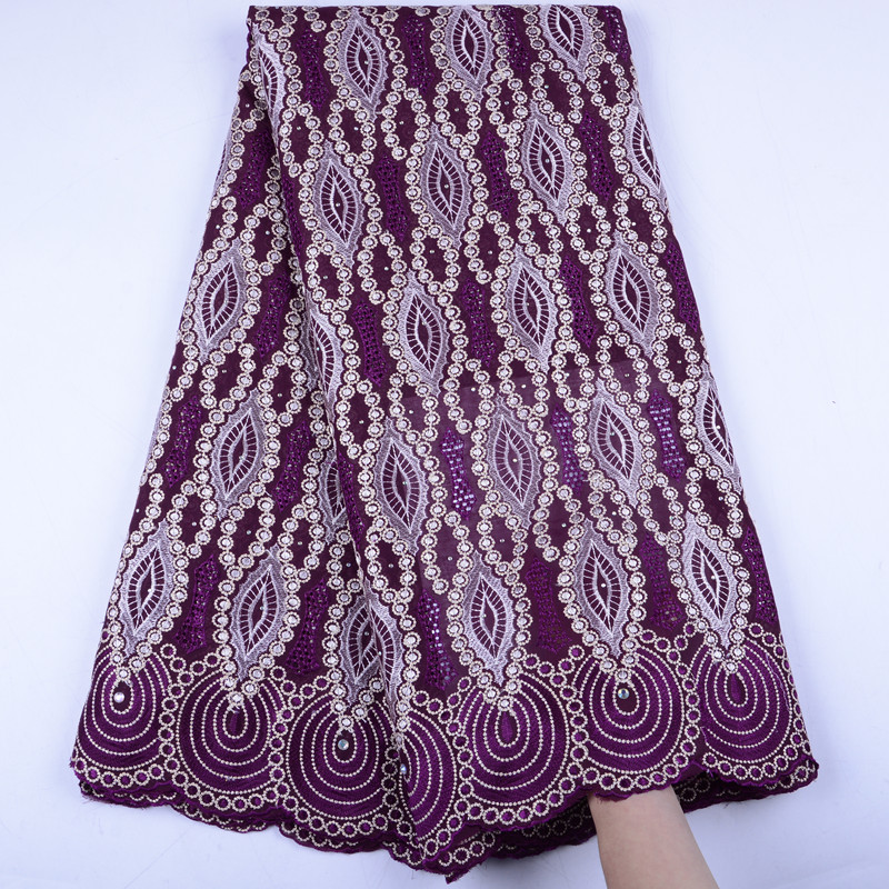 Nigerian Lace Fabrics 2019 African Swiss Voile Lace Fabrics High Quality French Voile Lace in Switzerland
