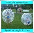 Диаметр 1.0 м ПВХ Надувные Пузырь Футбол футбольный Мяч для Детей, Зорб Мяч, надувные человеком шарик хомяка, бампер Мяч для Детей