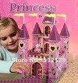 Kingtoy Девушка Принцесса Замок Мозаика Sticky Игрушки 3D Puzzle DIY Princess Palace Мозаика Наклейки Игрушки