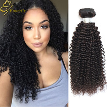 Stema Hair Peruvian Kinky Curly Virgin Hair 3 Bundles Natural Black Color Peruvian Curly Hair Weave Afro Kinky Curly Virgin Hair