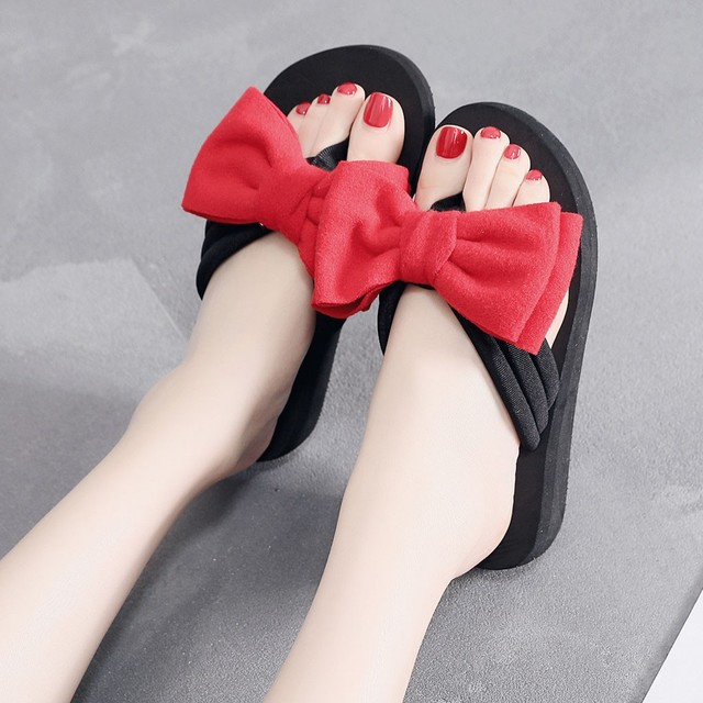 Summer Slippers Women Slides Home Bathroom Beach Flip Flops Shoes zapatos mujer chanclas Female Casual flower Slipper