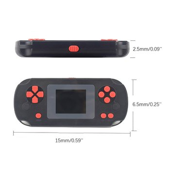 8-bit classic handheld game console portable retro game handheld game console built-in 268 classic game