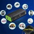 Portátil 9900 mah multi-função 12 v carregador de bateria de emergência carro saltar de arranque mini laptops telefone móvel power bank navio livre