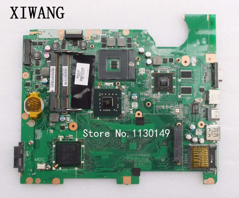 Free Shipping 578704-001 Mainboard For HP Pavilion G71 CQ71 PM45 Motherboard DA00P6MB6D0 100% Tested OK