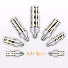 hot deal buy led e27 aluminum lamp smd5736 led corn light bulb e14 220v high power lampe 5w 7w 9w 12w 15w 20w 25w no flicker outdoor lighting