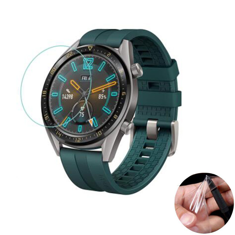 3pcs Soft Clear Protective Film Guard For Huawei Watch GT Active Smartwatch Display Screen Protector Cover Protection(Not Glass)
