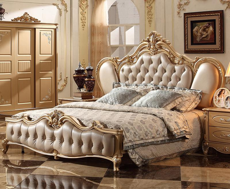 Classic Italian Antique Bedroom Furniture For Home Use - Buy Wood Carving  Bedroom Furniture,Arabic Style Bedroom Furniture,Latest Double Bed Designs  ...