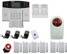 Free DHL Intercom home security Burglar Voice wireless GSM alarm system Remote Control Setting Arm 900/1800/1900MHZ