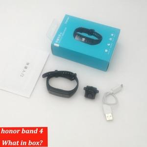 Image 5 - Originele Honor Band 4 Smart Armband 50M Waterdicht Kleur Ouch Screen Hartslag Slaap Snap Smart Polsband