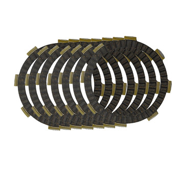 Motorcycle Clutch Friction Plates Set for HONDA CRF150R II 2006-2009 / CRF150 RB 2007-2013 Clutch Lining #CP-00012 image