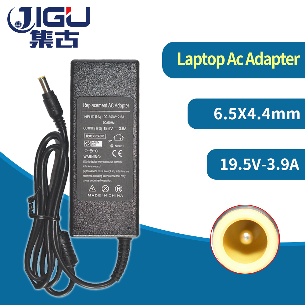 19.5V 3.9A 75W 6.5*4.4MM Replacement For Sony Laptop AC Charger Adapter Vaio SVE15115FXS VGP-AC19V19 VGP-AC19V27 VGP-AC19V33