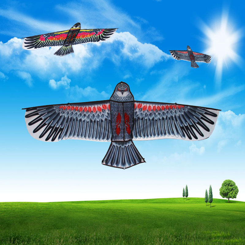 2019 Beautiful Kids Eagle Kite Polyester Beginning Ability Kite For Gifts Drop Shipping