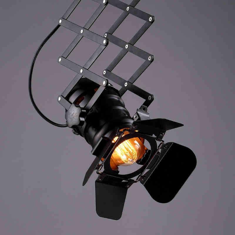 free shipping Designer loft vintage industrial lighting foldable lamp pendant lamp 11