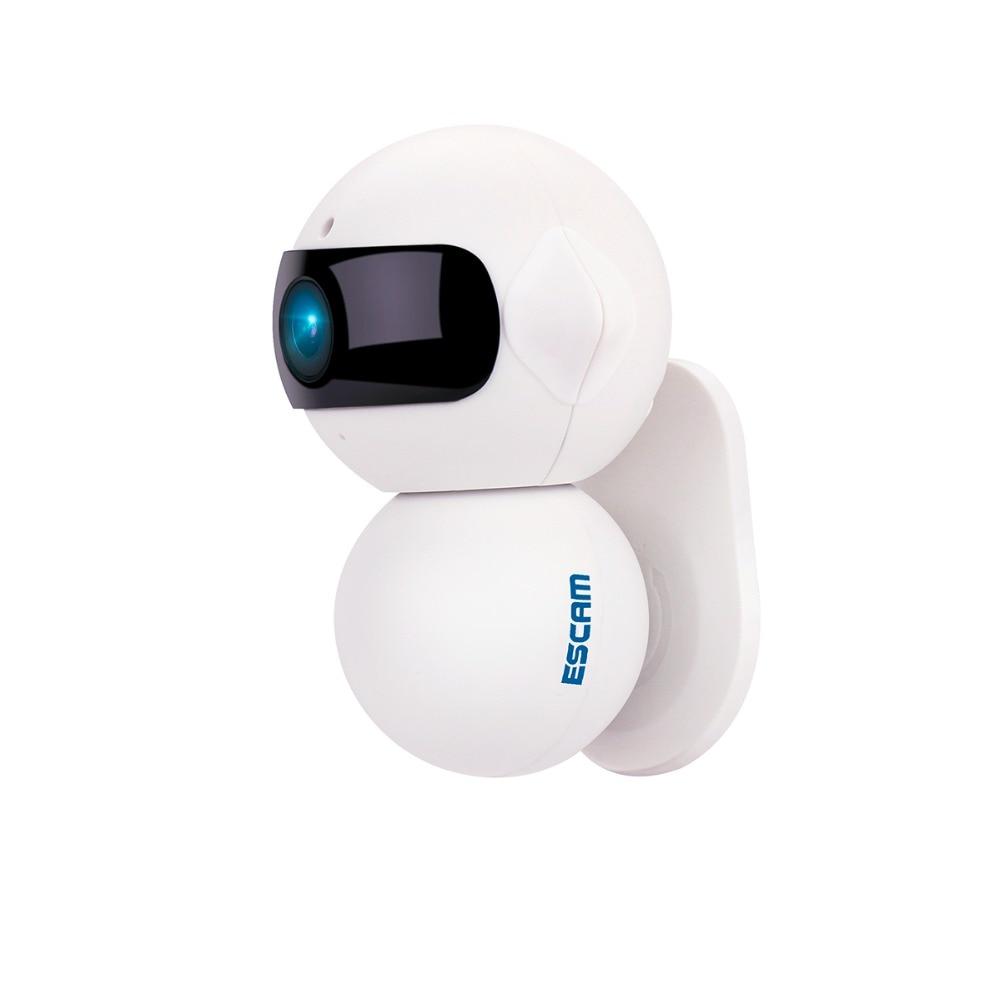 ESCAM Elf QF200 Mini Wifi Security Cctv Wireless Camera IP Network Surveillance 960P 1.3MP Night Vision Indoor Wi-fi IP Camera escam elf qf200 wifi mini ip camera 1 3mp hd 960p onvif p2p indoor surveillance night vision security cctv camera 32gb tf card