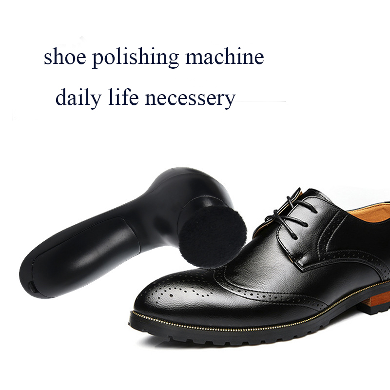 New Type Handy Electric Shoe Polishing Machine Portable Shoe Brush Handheld Oil Leather Maintenance Cleaning Device Wholesale intelligent sole shoe polisher shoe cleaning machine household automatic shoe cleaner