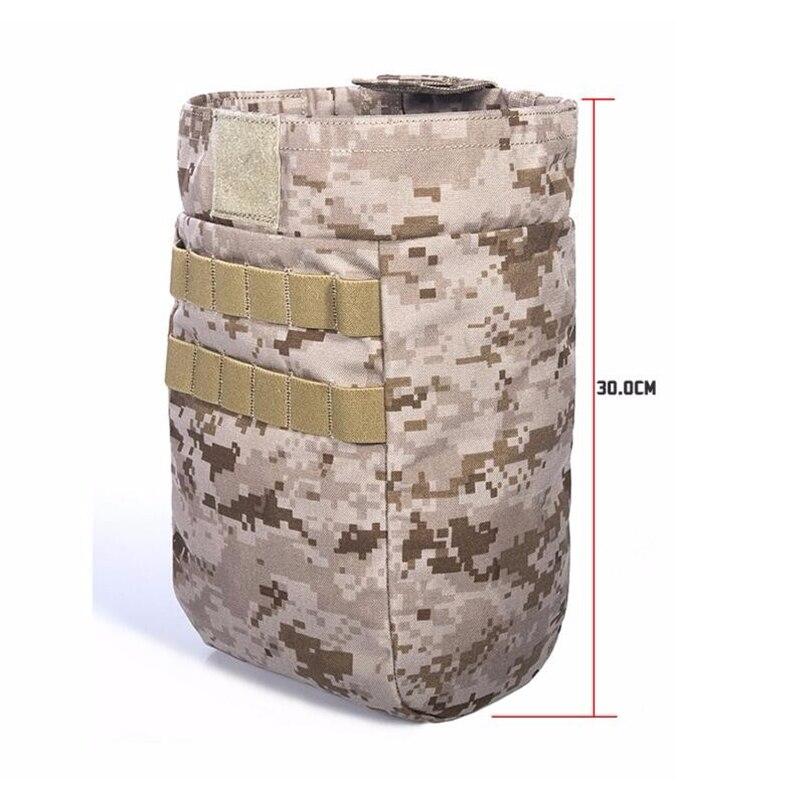 FLYYE MOLLE Buket Magazine Drop Pouch Military camping modular combat CORDURA M028