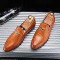Горячие продажа мужчины острым носом поскользнуться на оксфорды итальянские мужчины платье обувь бизнес обувь для мужчин размер 38-43