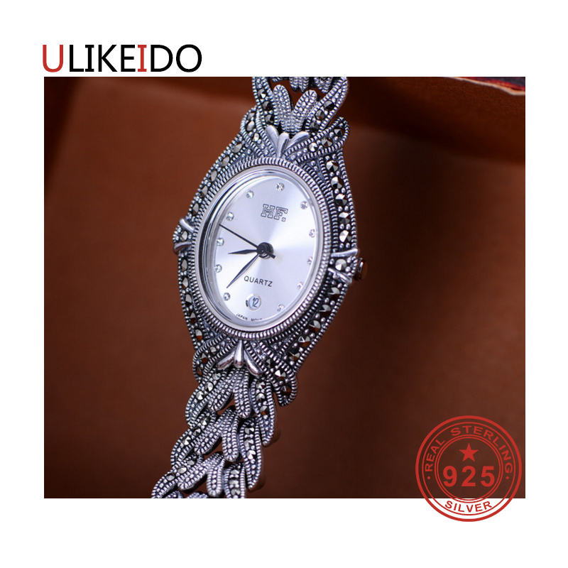 100% Pure 925 Sterling Silver Watch Men Fashion Hand Chain For Women Thai Silver Jewelry Charm Bracelet Homme 1538100% Pure 925 Sterling Silver Watch Men Fashion Hand Chain For Women Thai Silver Jewelry Charm Bracelet Homme 1538