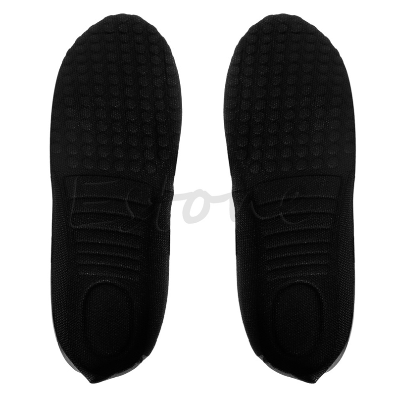 22-28cm Lady Women Man Unisex 3CM Up Height Increase Shoe Pad Heel Insoles Taller Pads Polyester High Quality New Comfortable kotlikoff 3 5cm half pad insoles women man up height increase shoe pad heel insoles pads invisible height increase shoe inserts