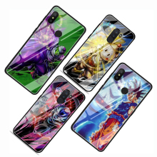 Dragon Ball Xiaomi Tempered Glass Phone Cases
