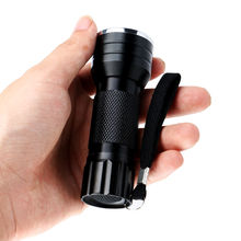 Mini Aluminum 21 LED UV Flashlight, Ultraviolet Led Marker Checker Detection Torch Light