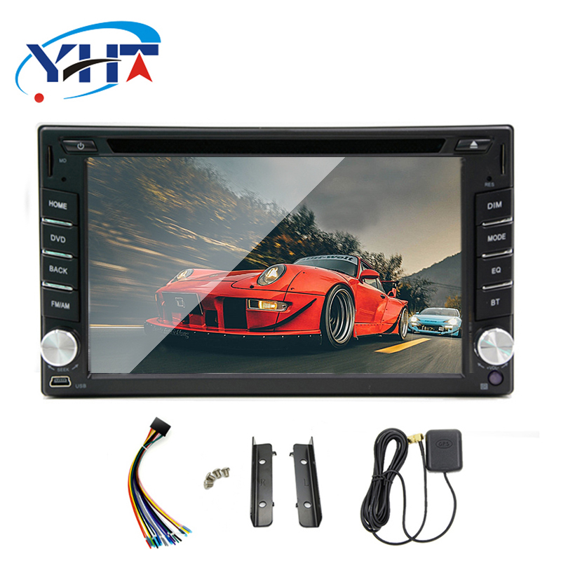 In dash <font><b>2DIN</b></font> android 7.1 GPS Wifi 3 G Bluetooth radio Car Stereo Radio USB Interchangeable Player-Wif MP3 player image
