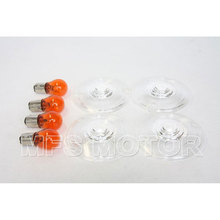 motorcycle parts Turn Signal Lens For  Harley Davidson 1986-2012 Electra Glides Road King Heritage