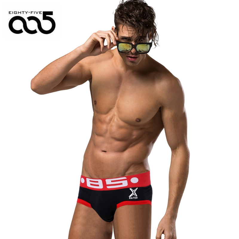 85 Brand Men Underwear Sexy Male Panties Briefs