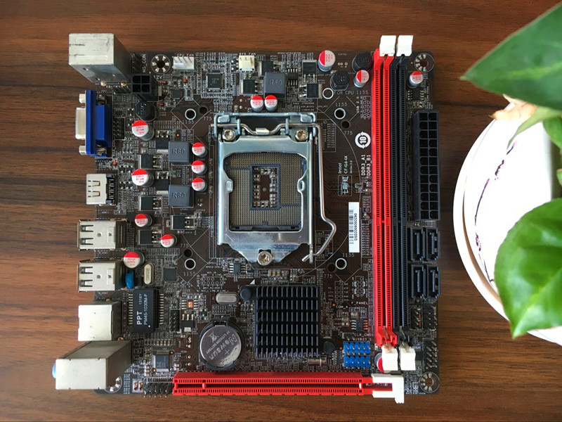 Original C.H61HD V20 H61 motherboard 1155-pin ITX mini-board 17 * 17 m945m2 945gm 479 motherboard 4com serial board cm1 2 g mini itx industrial motherboard 100