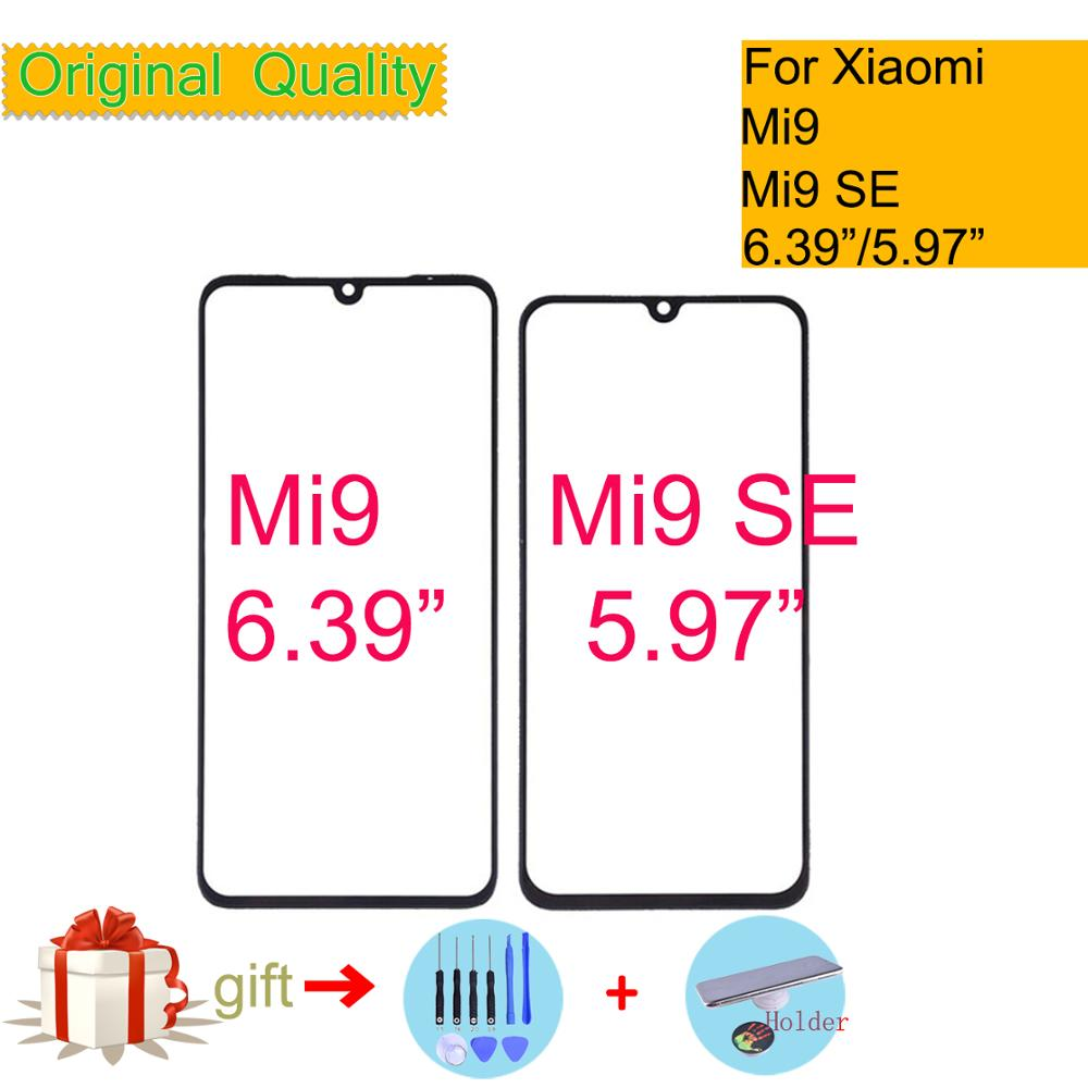 Original For Xiaomi MI 9 MI9 SE Touch Screen Panel Front Outer Glass Lens Touchscreen NO LCD Mi9 Mi9SE Glass Lens Replacement