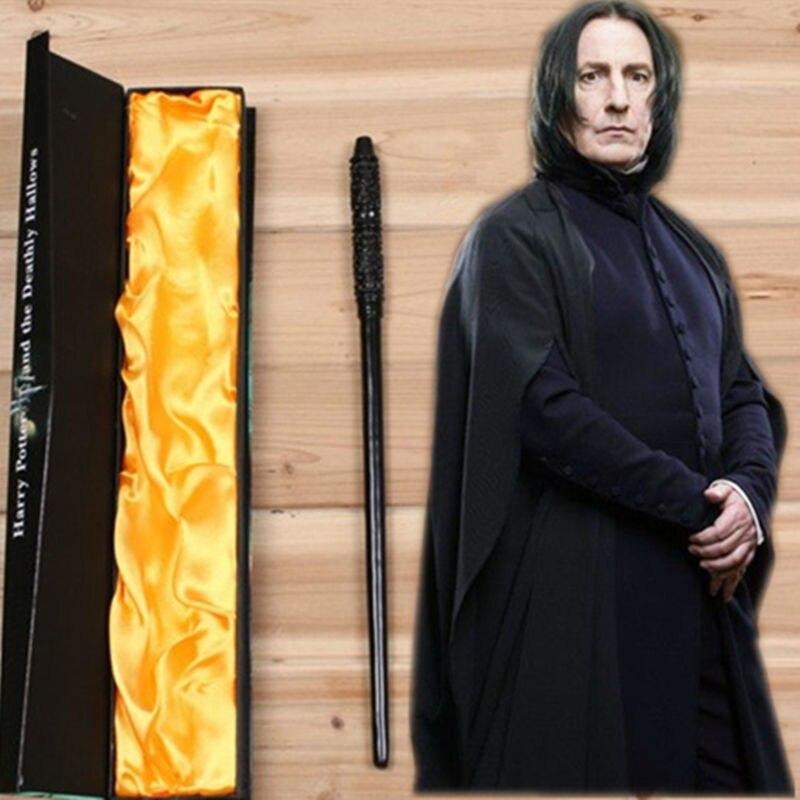 Ny professor Snape Magic Wand Harry Potter Wand Cosplay Barnleksaker Halloween present med högkvalitets boxpackning