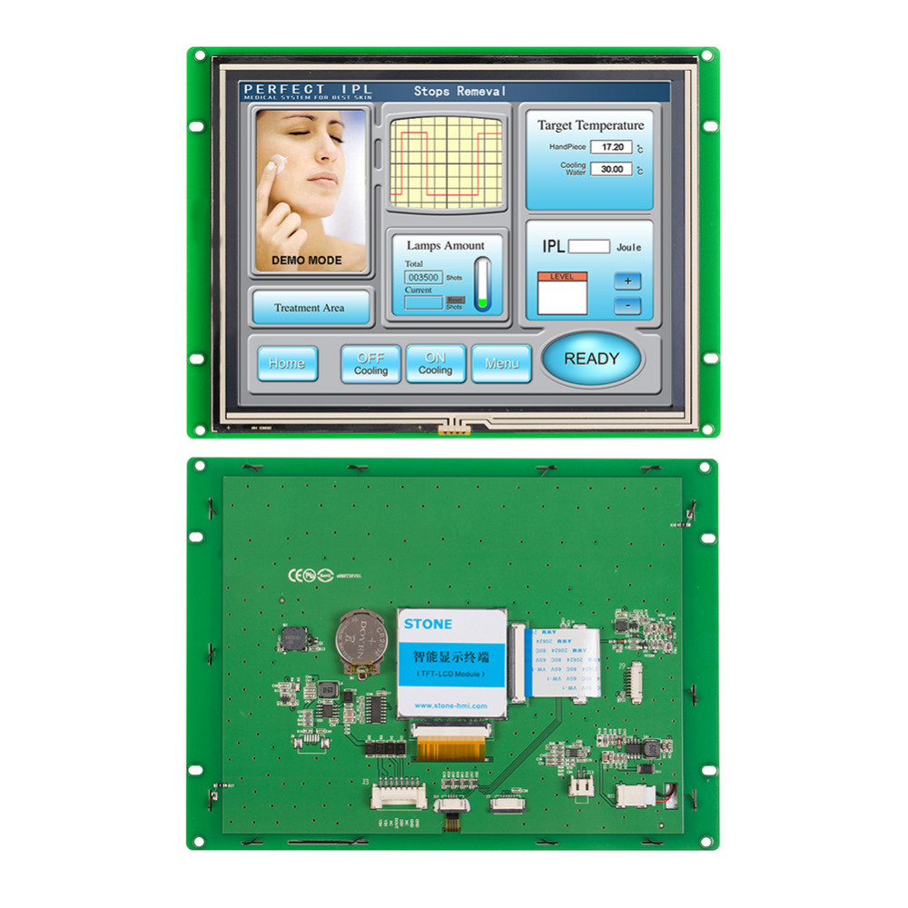 8.0 Intelligent LCD TFT  Touch Screen Monitor8.0 Intelligent LCD TFT  Touch Screen Monitor