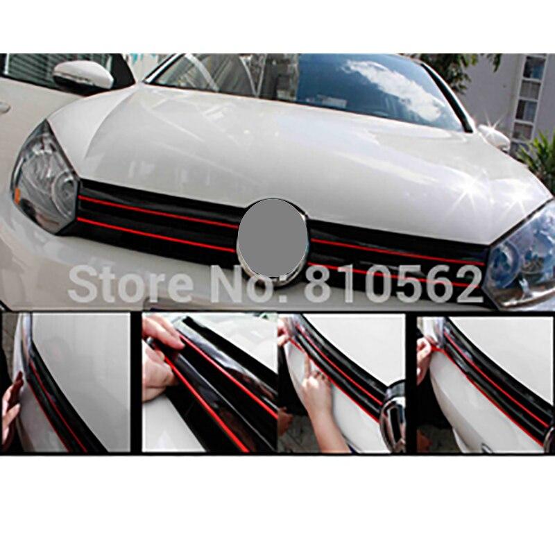 500CM*0.4CM car grid article decoration Decorative thread strip auto accessory for Koleos Q3 Q5 308 408 RIO Granta Solaris golf
