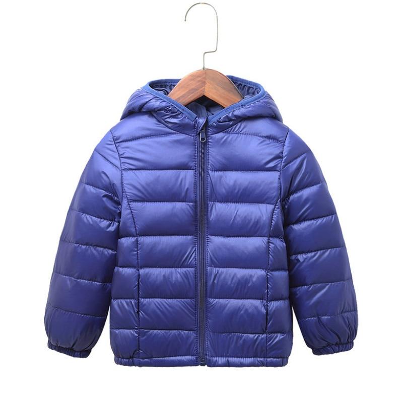 4bfd8106b0b0a Light children s winter jackets Kids Duck Down Coat Baby jacket for girls  parka Outerwear Hoodies Boy Coat 1 2 3 4 5 years