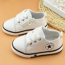 NEW 2016 Fashion Children Flats Lace-Up Casual Canvas shoes chaussure fille Boys Girls Sneakers Kids Breathable Sport shoes 03