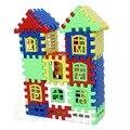Baby Дети Детский Дом Строительные Блоки Обучения Строительство Развивающие Игрушки Мозг Игры