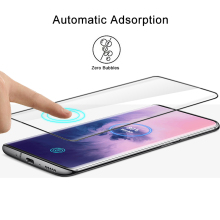 9D Tempered Glass For OnePlus 7 Pro Screen Protector Full Cover Film Case Curved Glass Round Edge For One Plus 7 Pro 1+7 Pro
