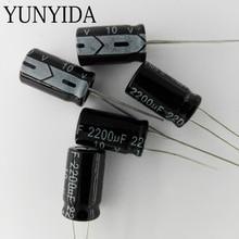 Электролитический конденсатор 2200 мкФ 10 В 10 шт.