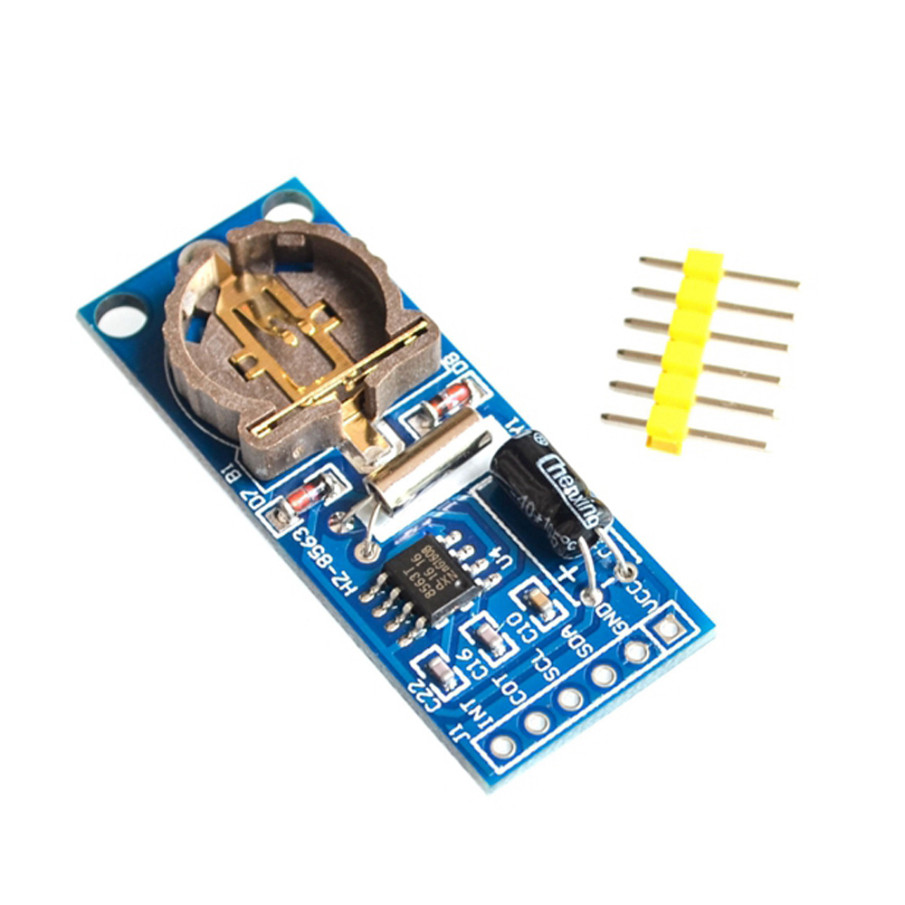 New PCF8563 PCF8563T 8563 IIC Real Time Clock RTC Module Board Good than DS3231 AT24C32 ds3231 high precision real time clock module blue 3 3 5 5v