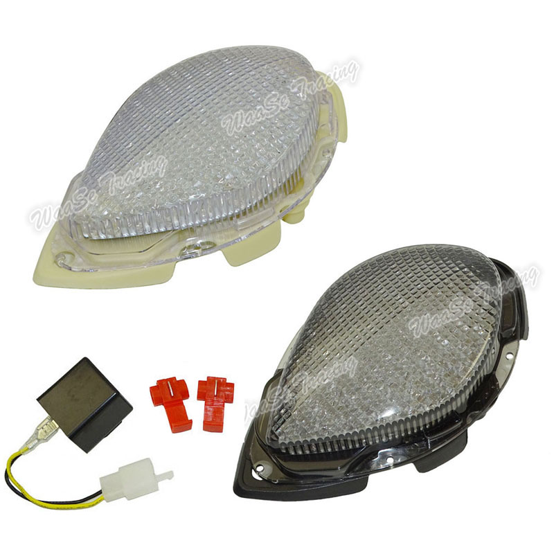 EMARK Rear Taillight Tail Brake Turn Signals Integrated Led Light Lamp For 2004 2005 2006 2007 2008 2009 YAMAHA Road Star XV1700 e marked taillight tail brake turn signals integrated led light smoke for 1991 1992 1993 1994 1995 yamaha fzr1000 fzr 1000 exup