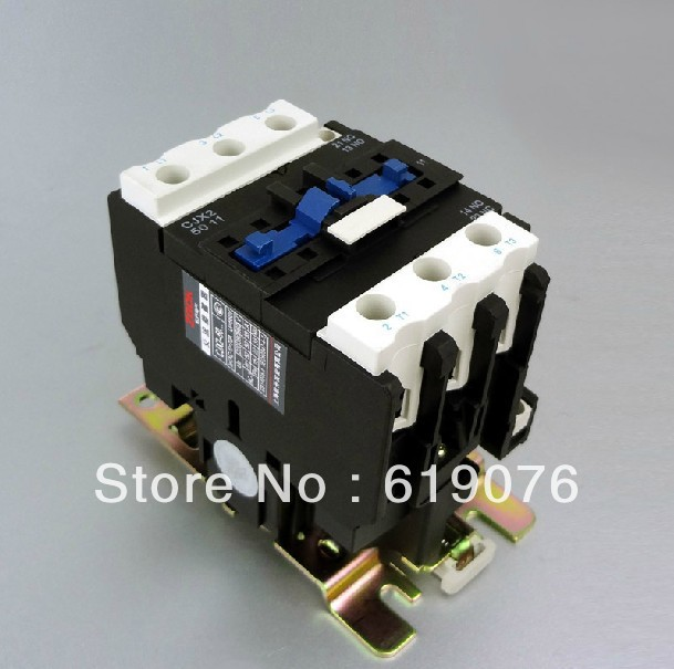 CJX2 5011 Motor Starter Relay contactor AC 220V 380V 50A silver point Voltage optional LC1-D